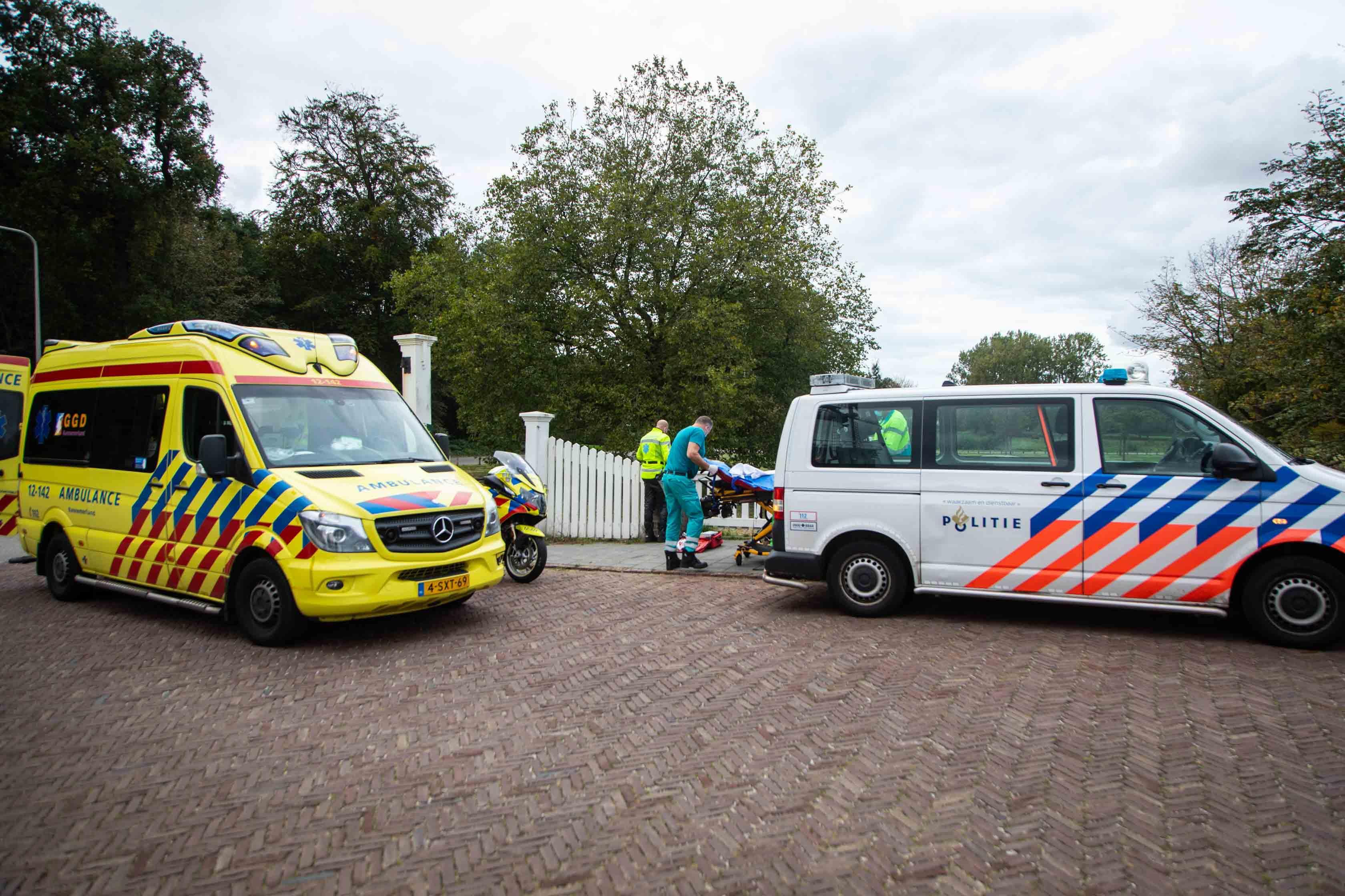 Voetganger gewond bij aanrijding in Heemstede, automobiliste rijdt door
