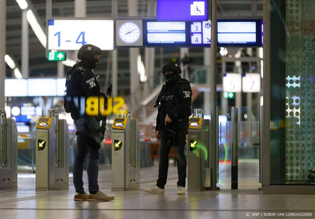 Politie: er was geen dreiging op Utrecht CS
