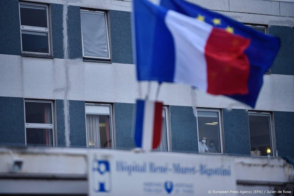 Grote sprong in aantal coronapatiënten in Franse ziekenhuizen
