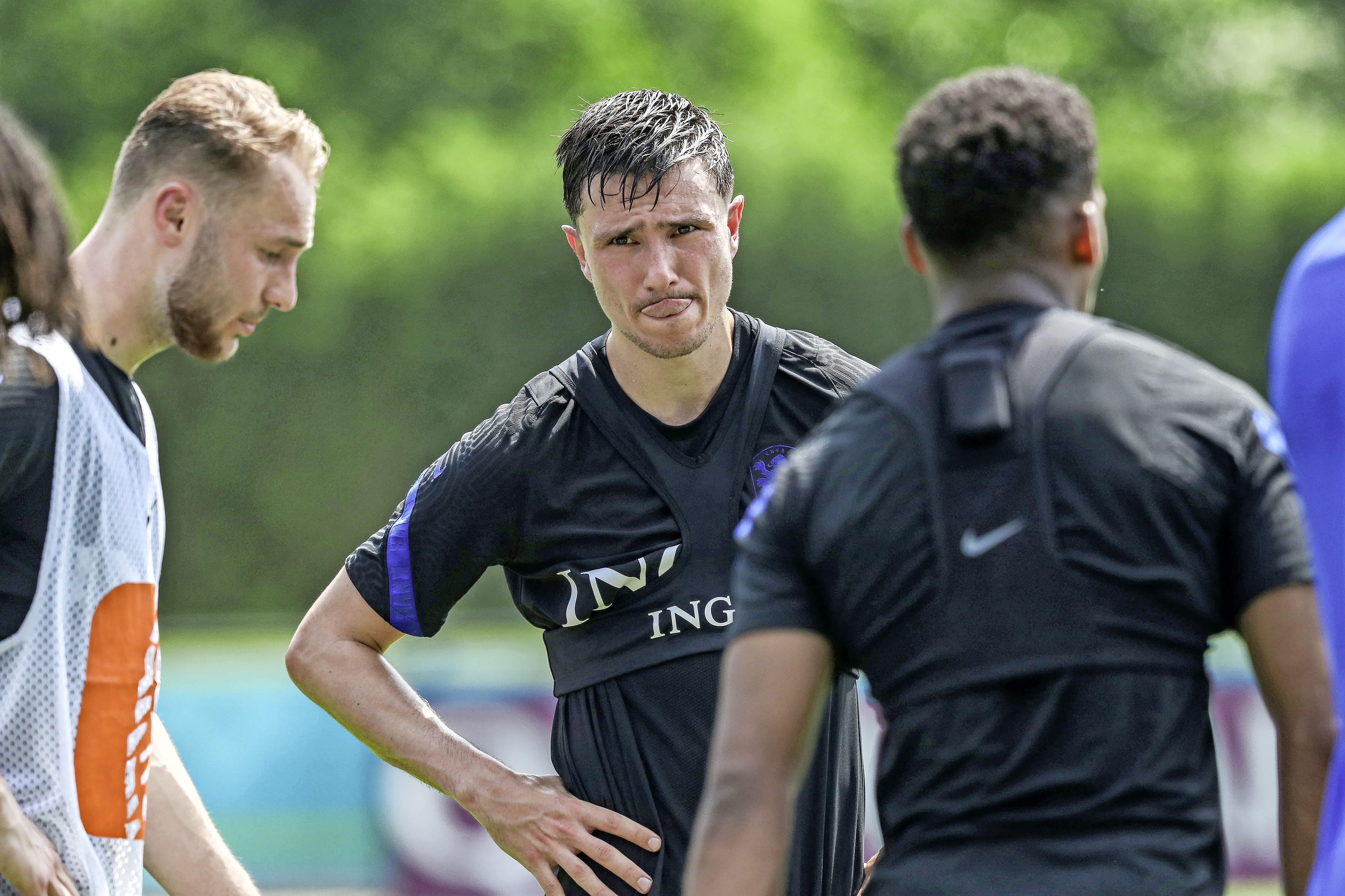 'Zou Steven Berghuis in zijn kamertje in de Zeister bossen al een keer wakker zijn geworden onder een Ajax-dekbed?'   EK-column