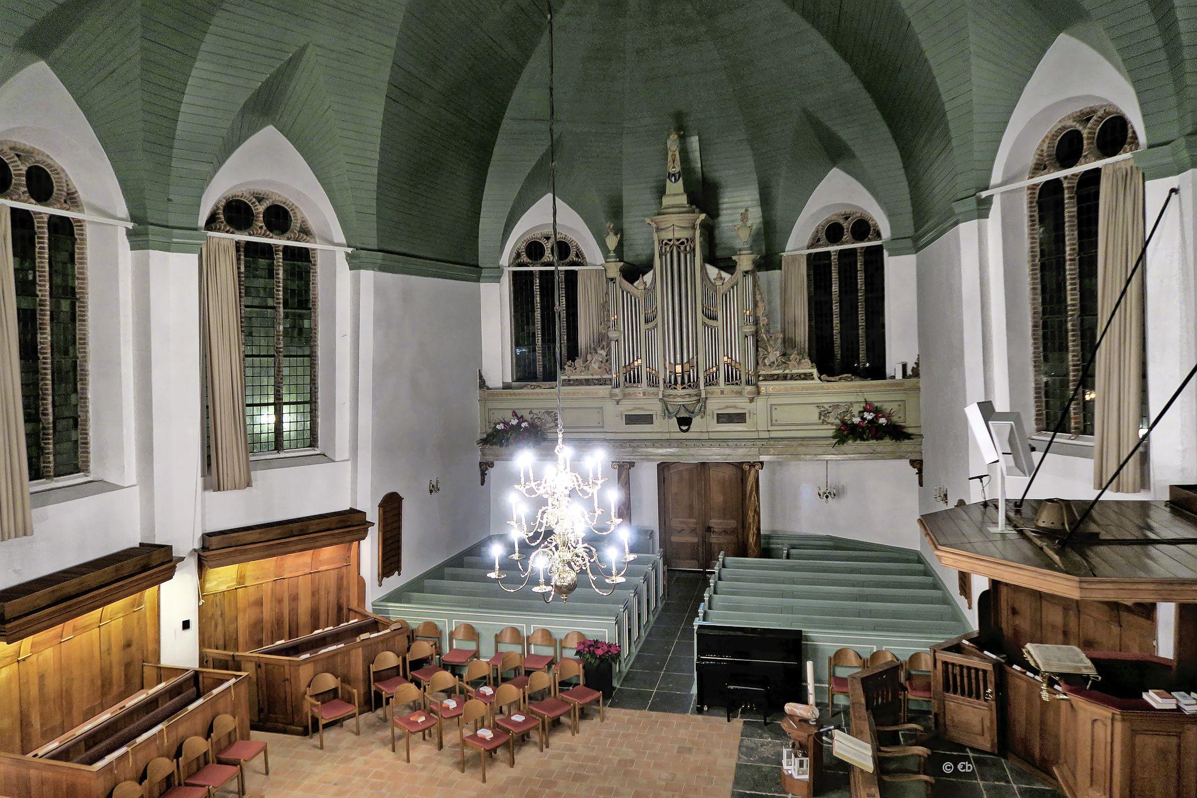 Langverwachte restauratie Mitterreither-orgel in de dorpskerk van Woubrugge begint nog deze maand