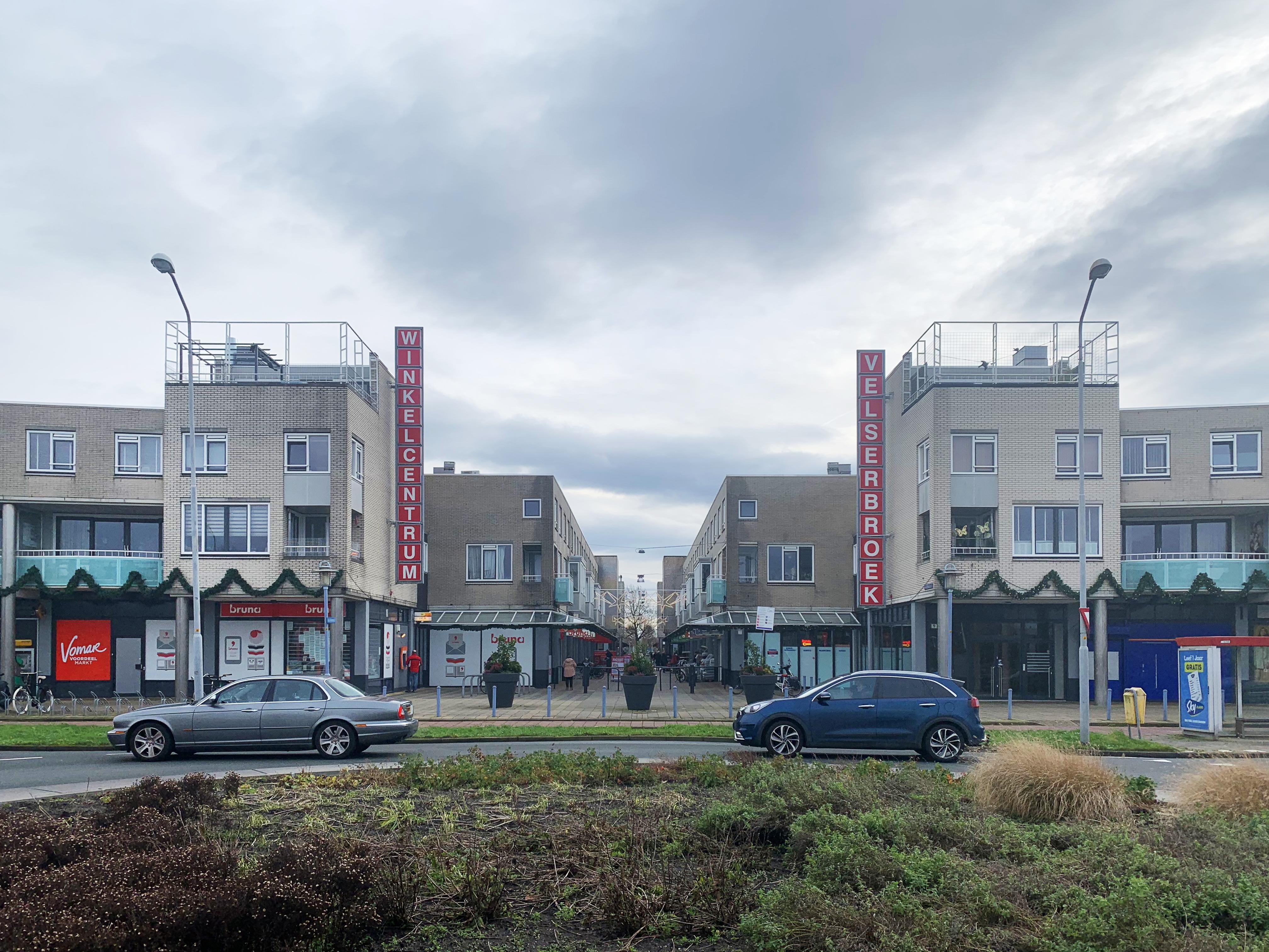 Winkelcentrum Velserbroek mogelijk uitgebreid, wachten is op verkoop van de grond