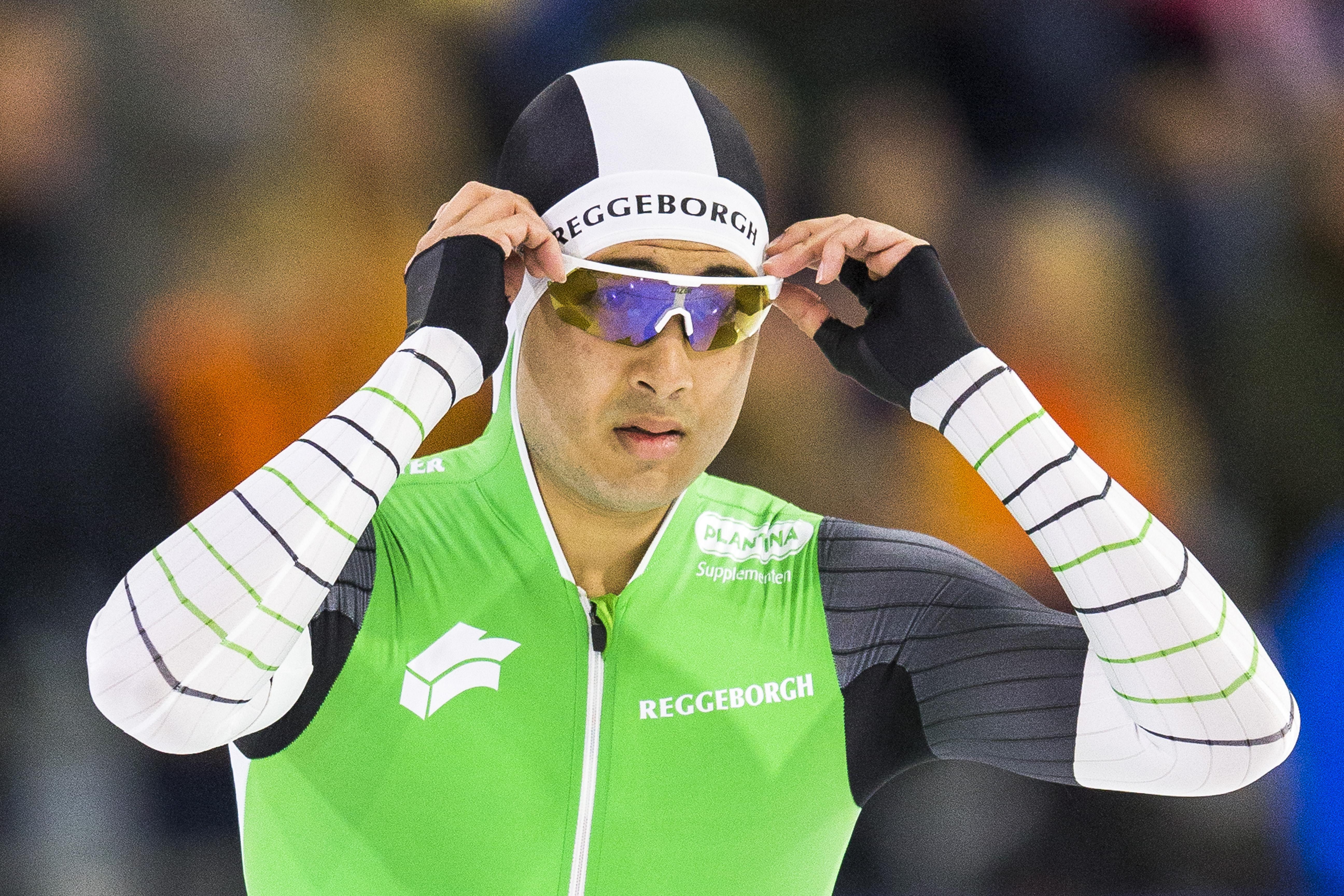 Verbij wint 500 meter in Thialf
