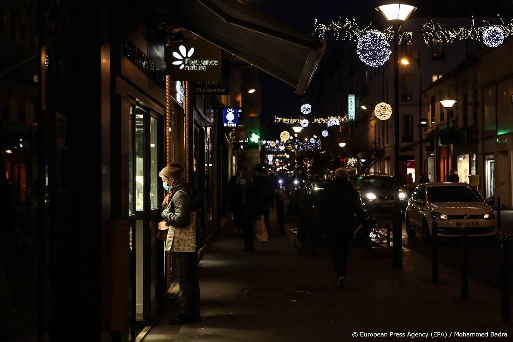 Frankrijk vervroegt avondklok in delen van het land