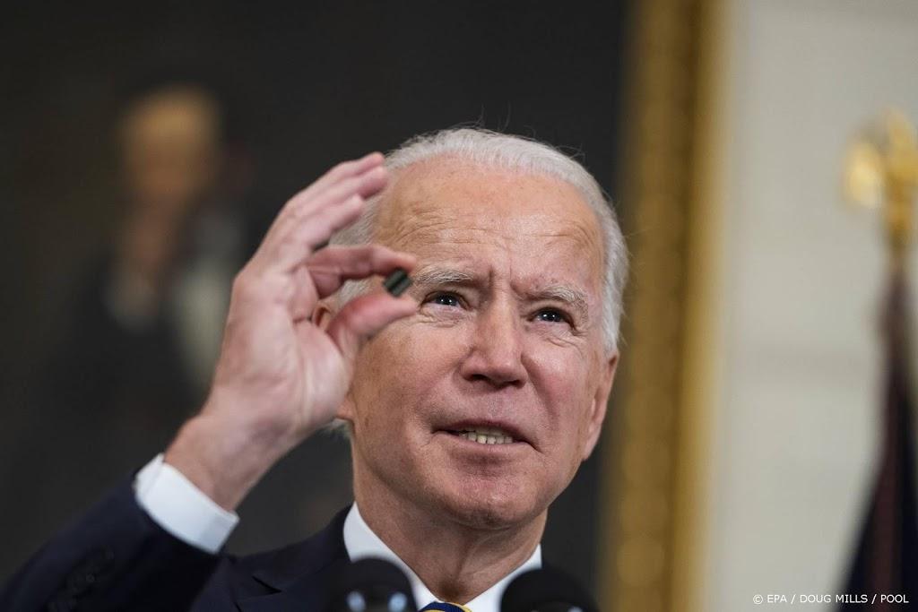 Biden roept Senaat op snel in te stemmen met coronasteunpakket