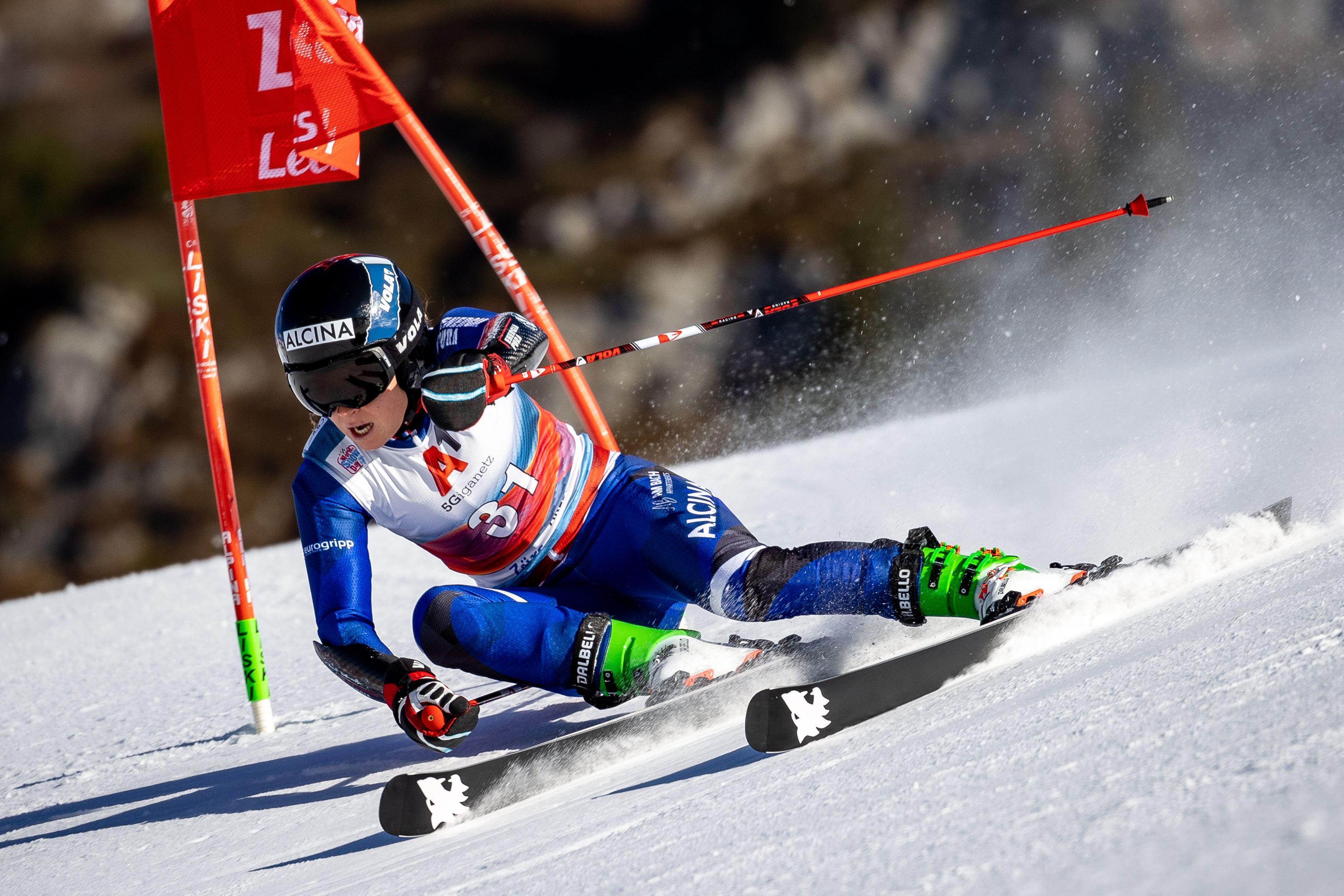 Historische prestatie skiester Jelinkova: 'Ik heb sinds lange tijd plezier beleefd'