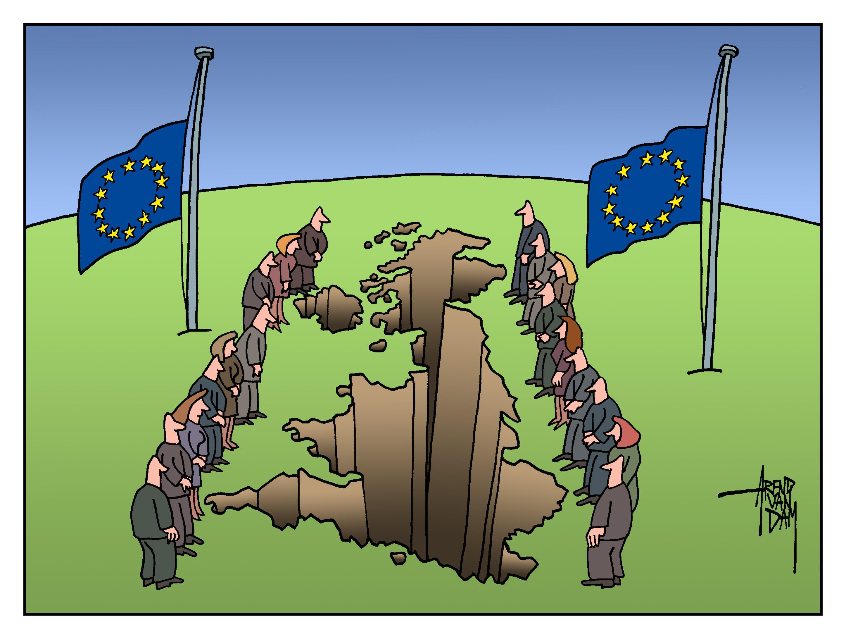 De Britten vieren Brexit als een overwinning, maar het definitieve vertrek van Groot Brittannië is vooral een verlies. Voor heel Europa! | Commentaar