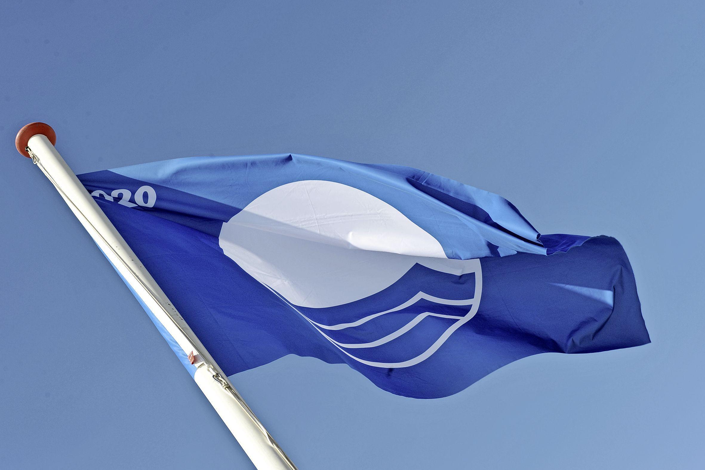 Zeven Blauwe Vlaggen voor jachthavens en stranden in de Bollenstreek