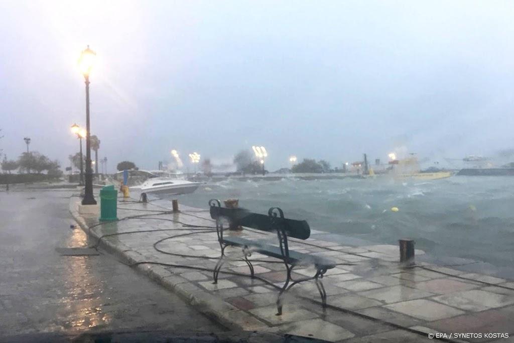 Overstromingen en stroomuitval in Griekenland door orkaan Ianos