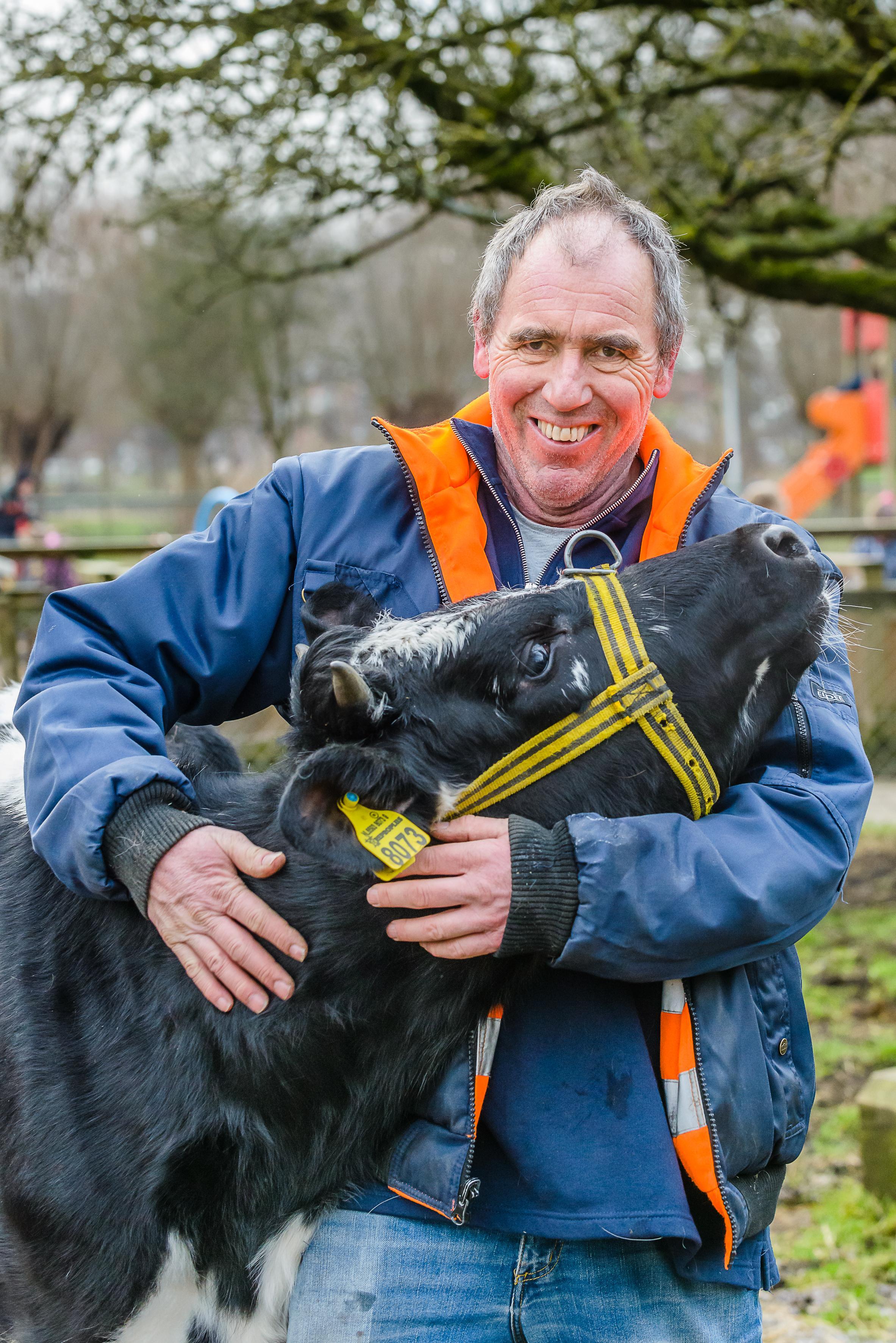 Jan Renes van stadsboerderij Darwinpark: Een dier oordeelt niet