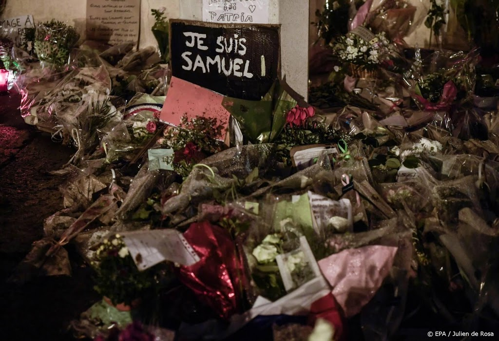 Zeven personen woensdag voorgeleid om onthoofding Franse leraar
