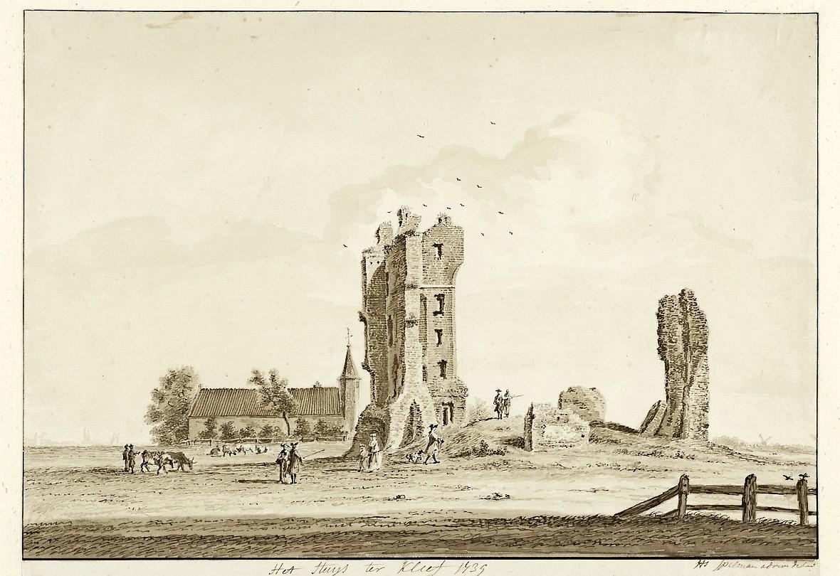 Uit de tijd: Een 16e-eeuwse tennisbaan