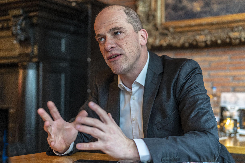 Diederik Samsom: 'de Leidse universiteit heeft een belangrijke rol bij de verduurzaming van Europa'