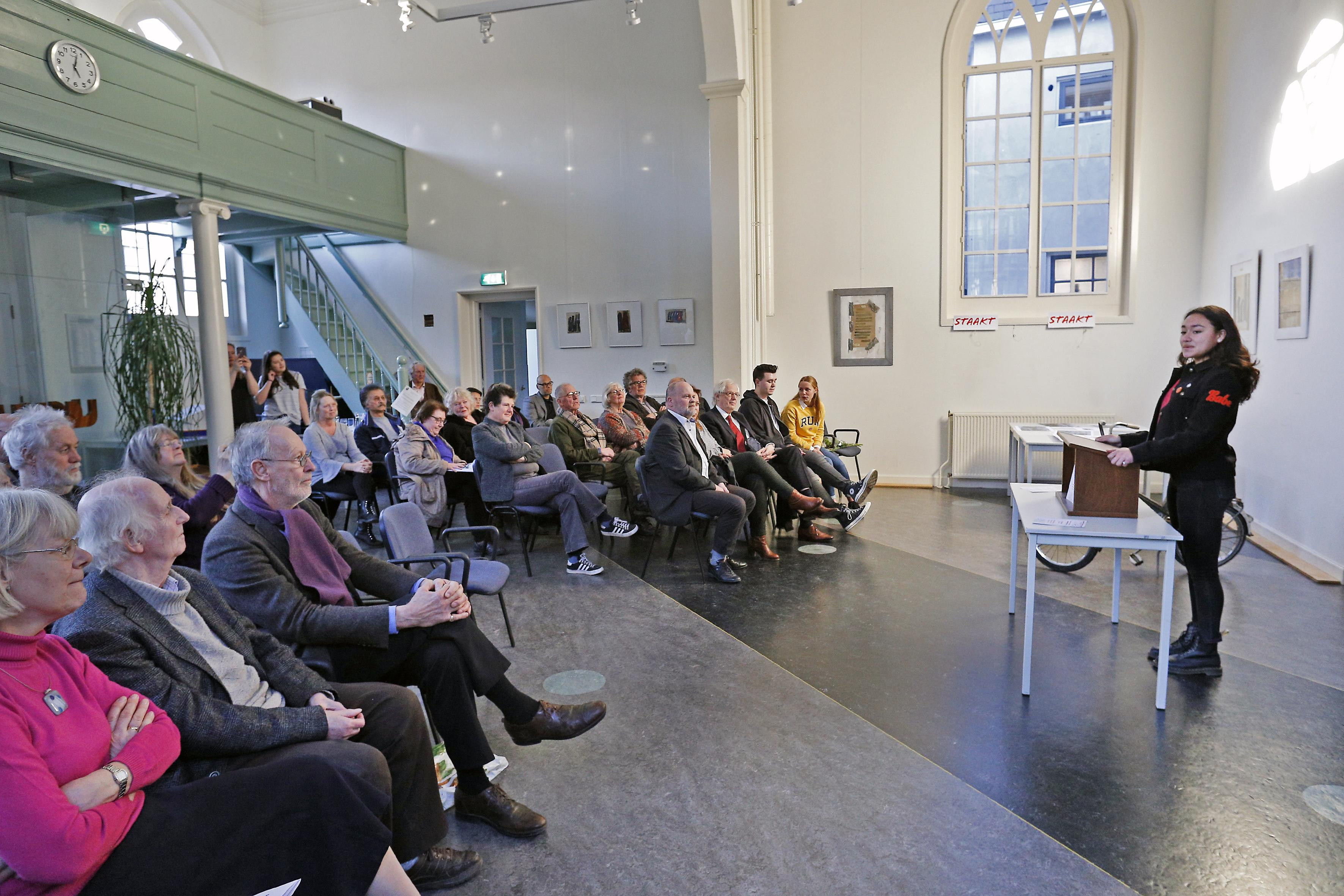 Vanwege corona dit jaar geen herdenking van Februaristaking in synagoge van Weesp; bijeenkomst 'geadopteerd' door leerlingen Vechtstede College