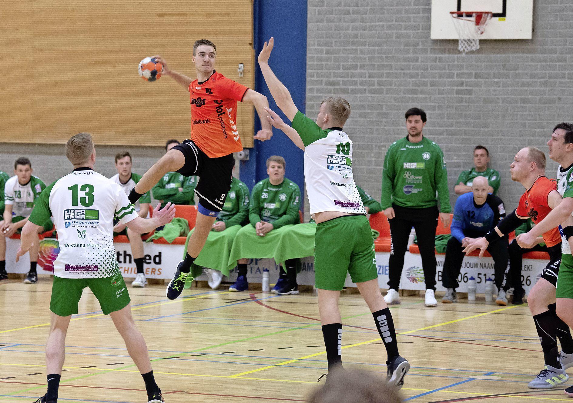 Na een onzekere periode lijkt het lek boven bij de handballers van Volendam [video]