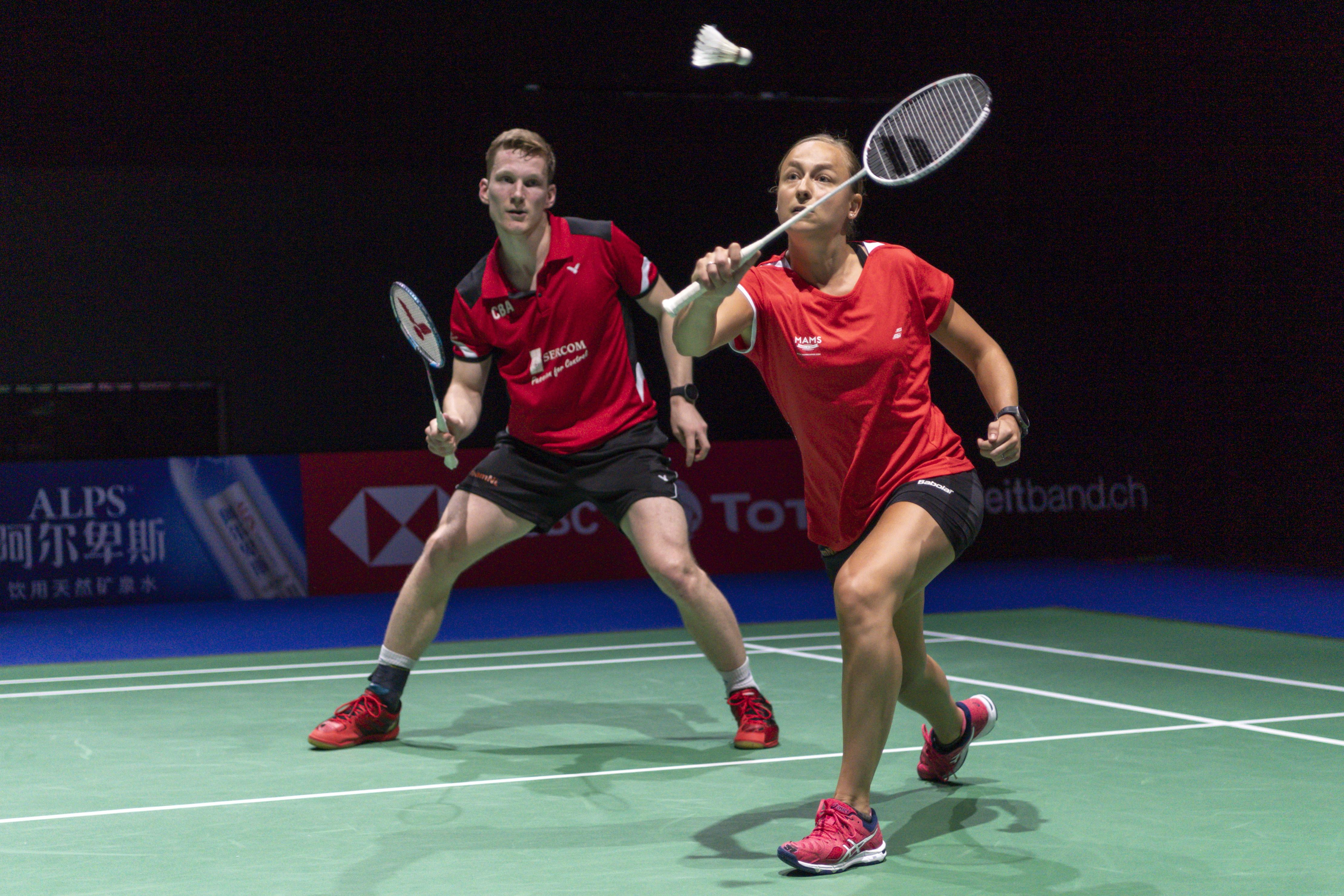 Badmintonduo Tabeling/Piek naar finale gemengd dubbelspel Dutch Open