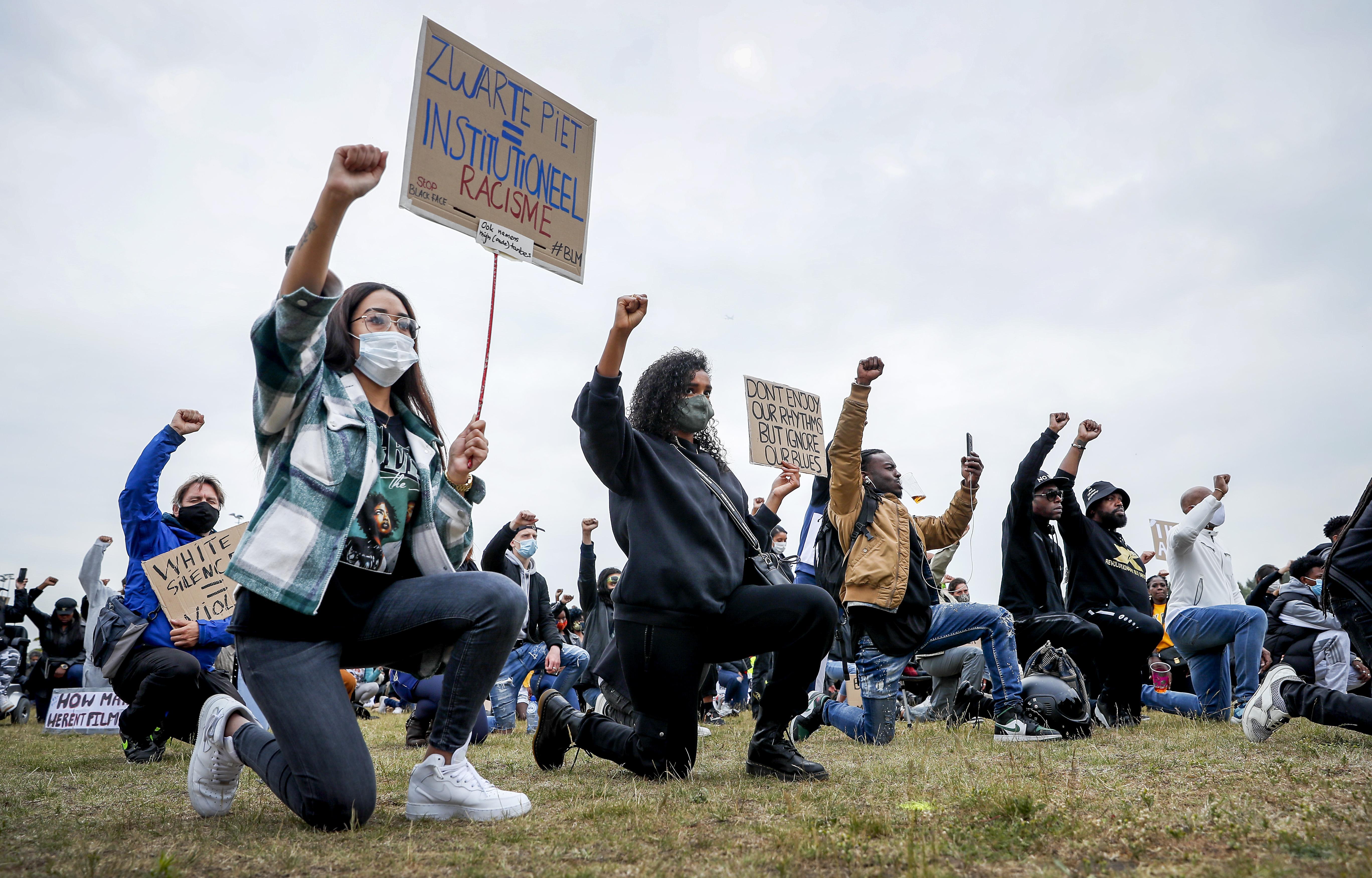 Black Lives Matter demonstratie in Leiden: zondag maximaal duizend mensen vanwege coronamaatregelen