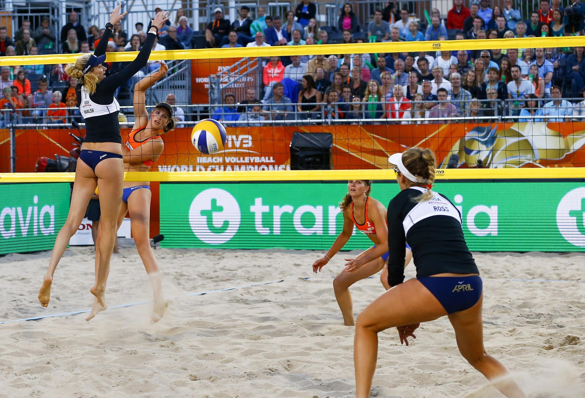 Rimke Braakman is blij dat de druk is verdwenen, maar plukt nog altijd vruchten van haar jaren als professioneel beachvolleybalster: 'Plezier is niet meer afhankelijk van het resultaat'