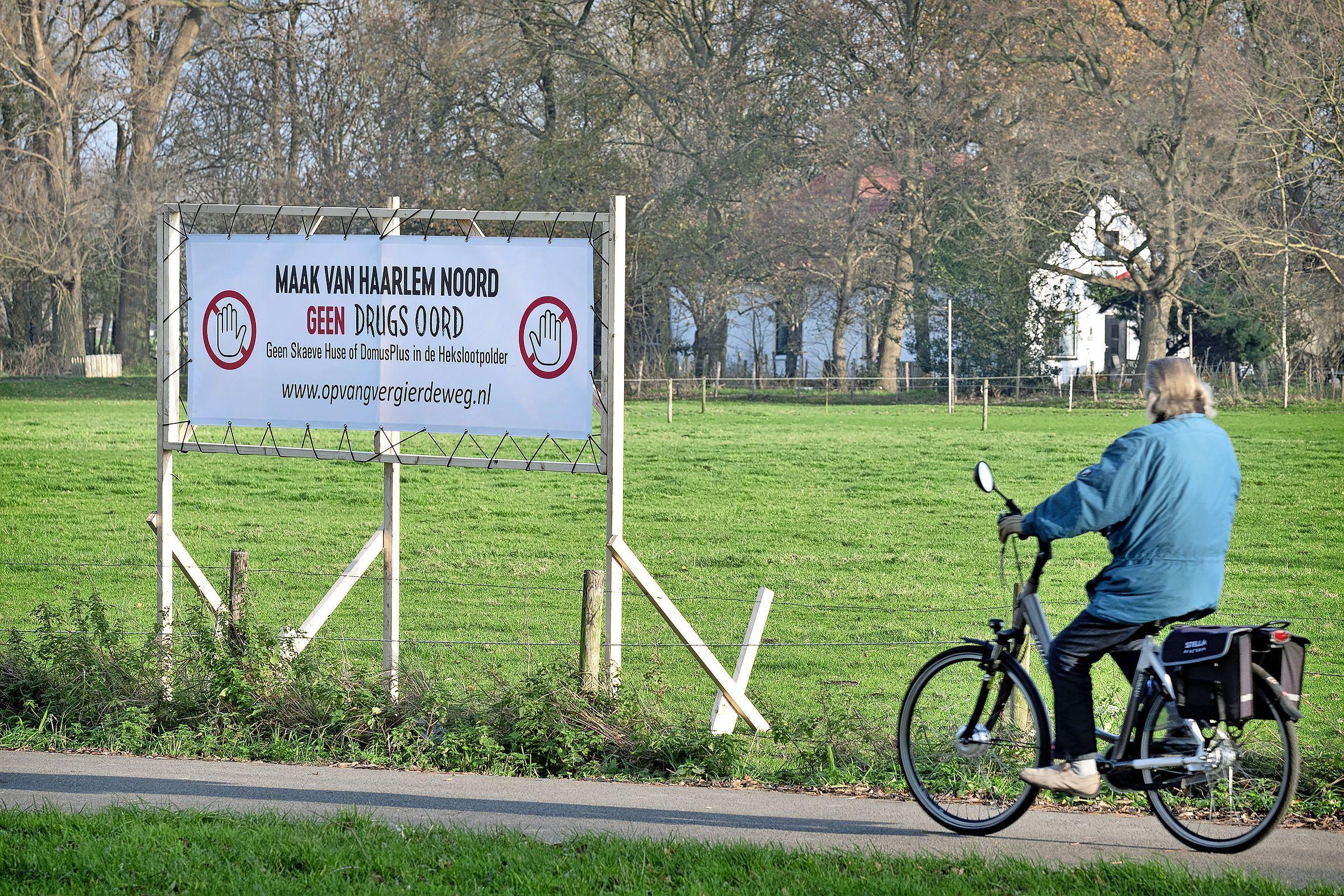 Haarlemmers demonstreren donderdag tegen locatiekeuze 'asowoningen' en daklozenopvang: 'We zijn er klaar mee'