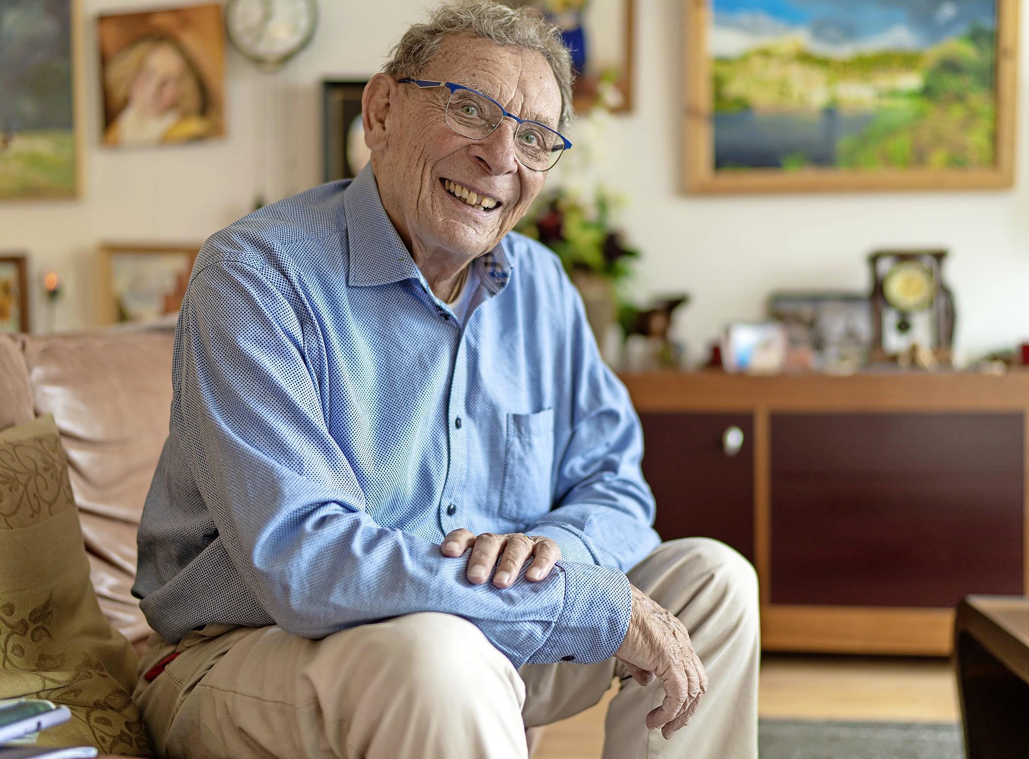 Delfste onderduiker Ben Wilmer (91) komt voor dorpsfeest terug naar Zuidschermer
