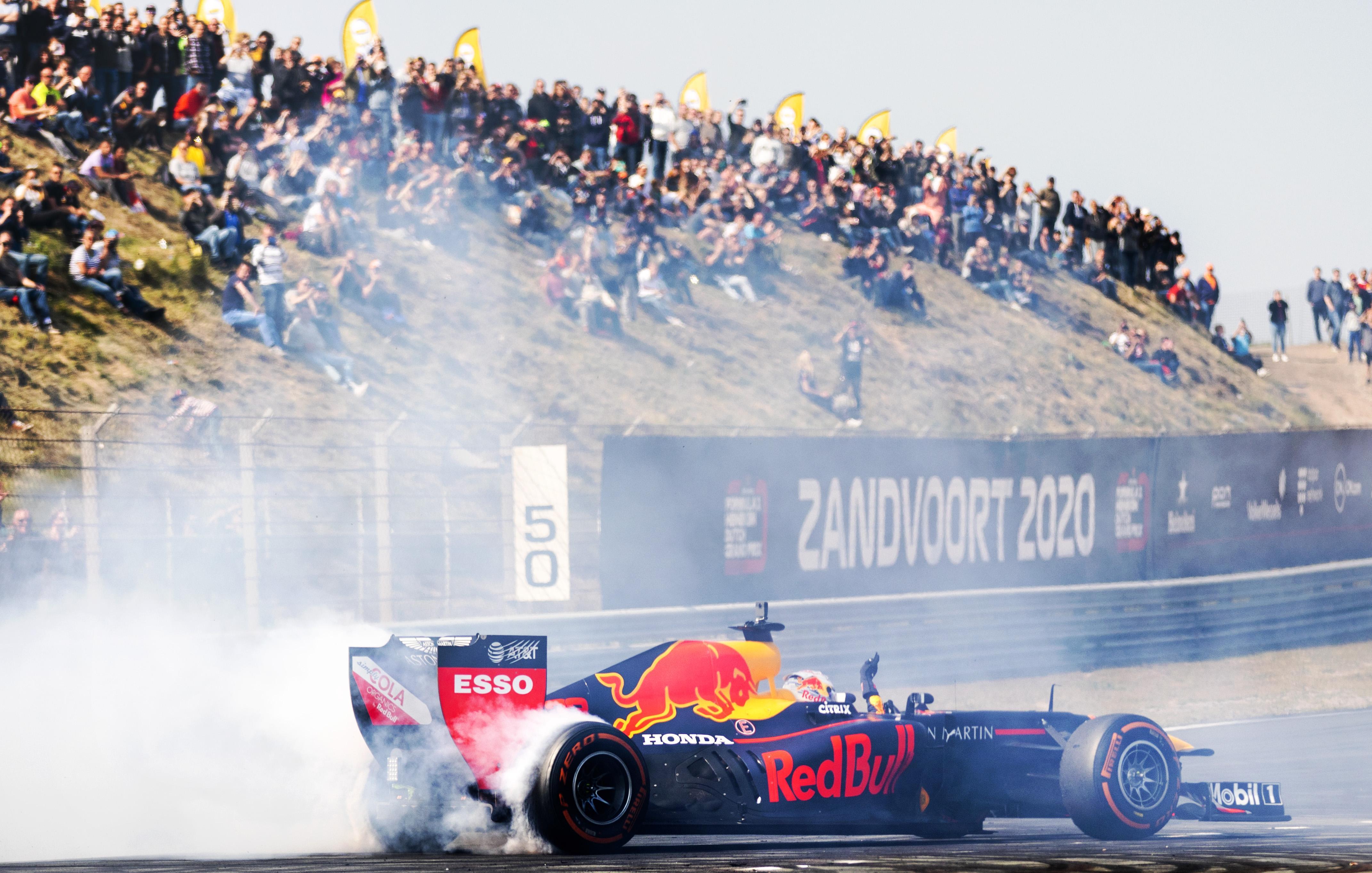 Grote Prijs van Nederland Formule 1 op 3 mei in Zandvoort