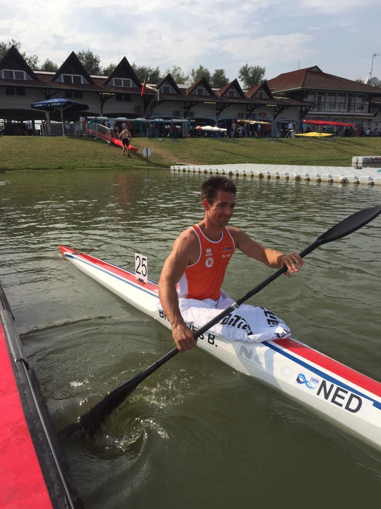 Bram Brandjes: 'In Nederland is kanoën een elitesport'