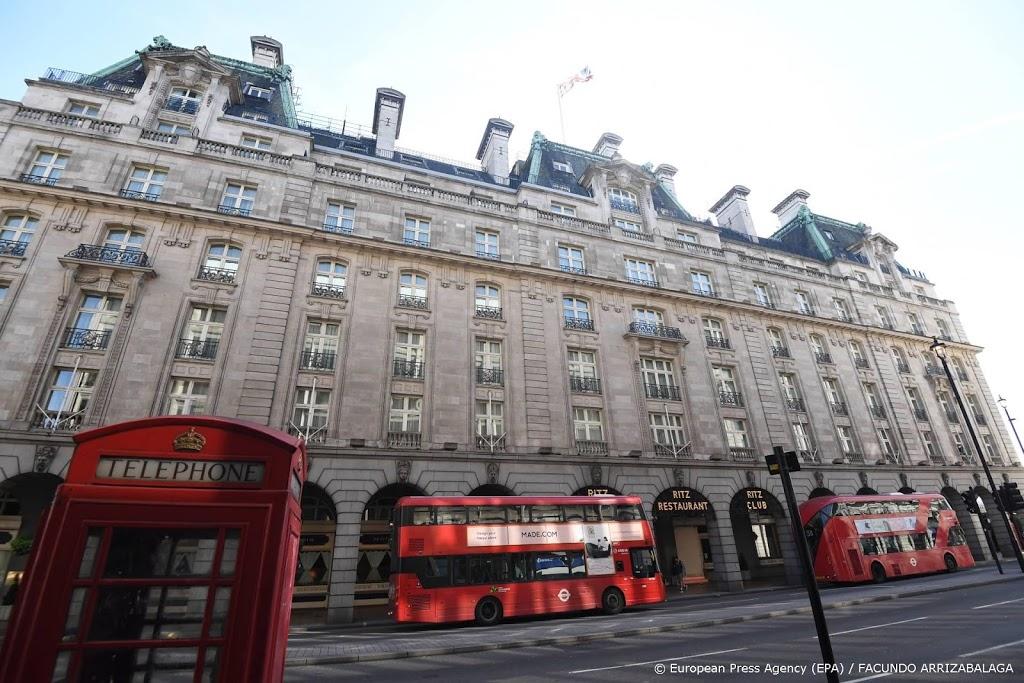 'Londen wil buitenlandse reiziger dagen in hotel voor 1500 pond'