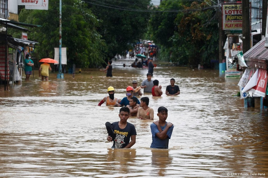 Zware overstromingen en doden door tyfoon Vamco op Filipijnen