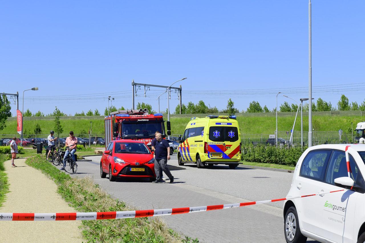 Wielrenner zwaargewond aangetroffen op de Rijnlanderweg in Hoofddorp