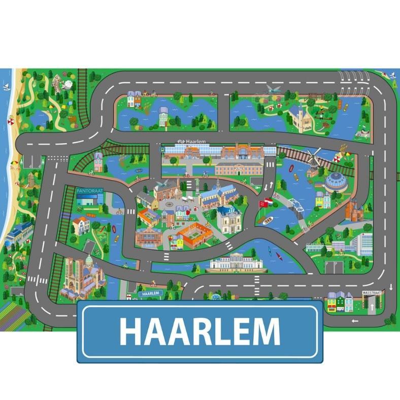25 plekken op nieuw Haarlems speelkleed