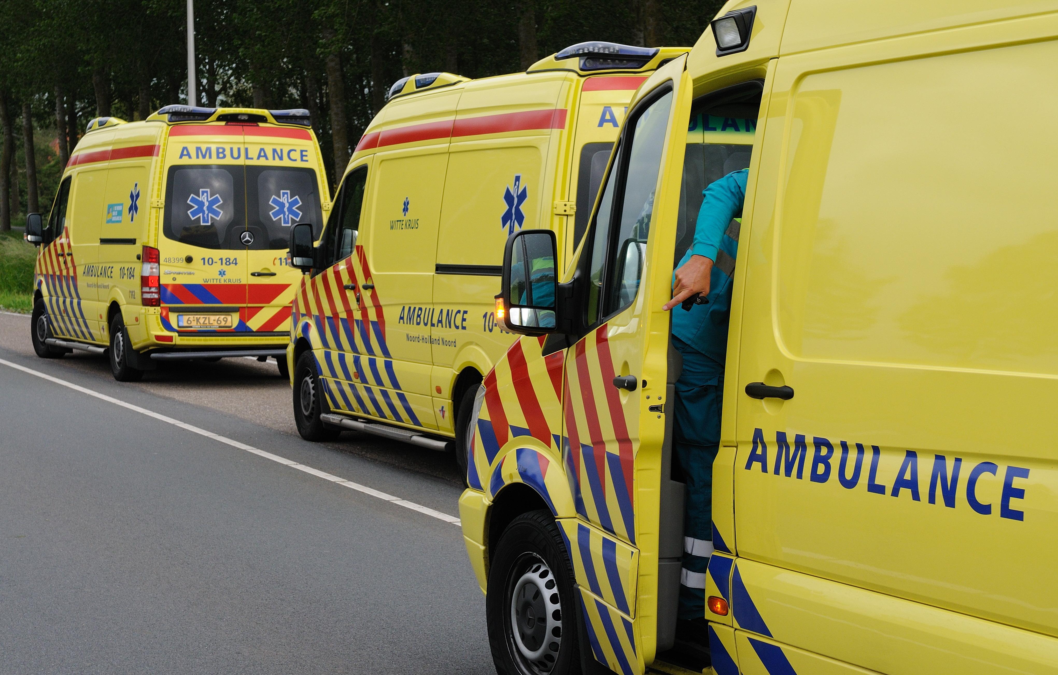 Maandag drukke spits door pensioenprotest, hulpdiensten rijden 66 kilometer per uur over snelweg van Noord-Holland naar Den Haag