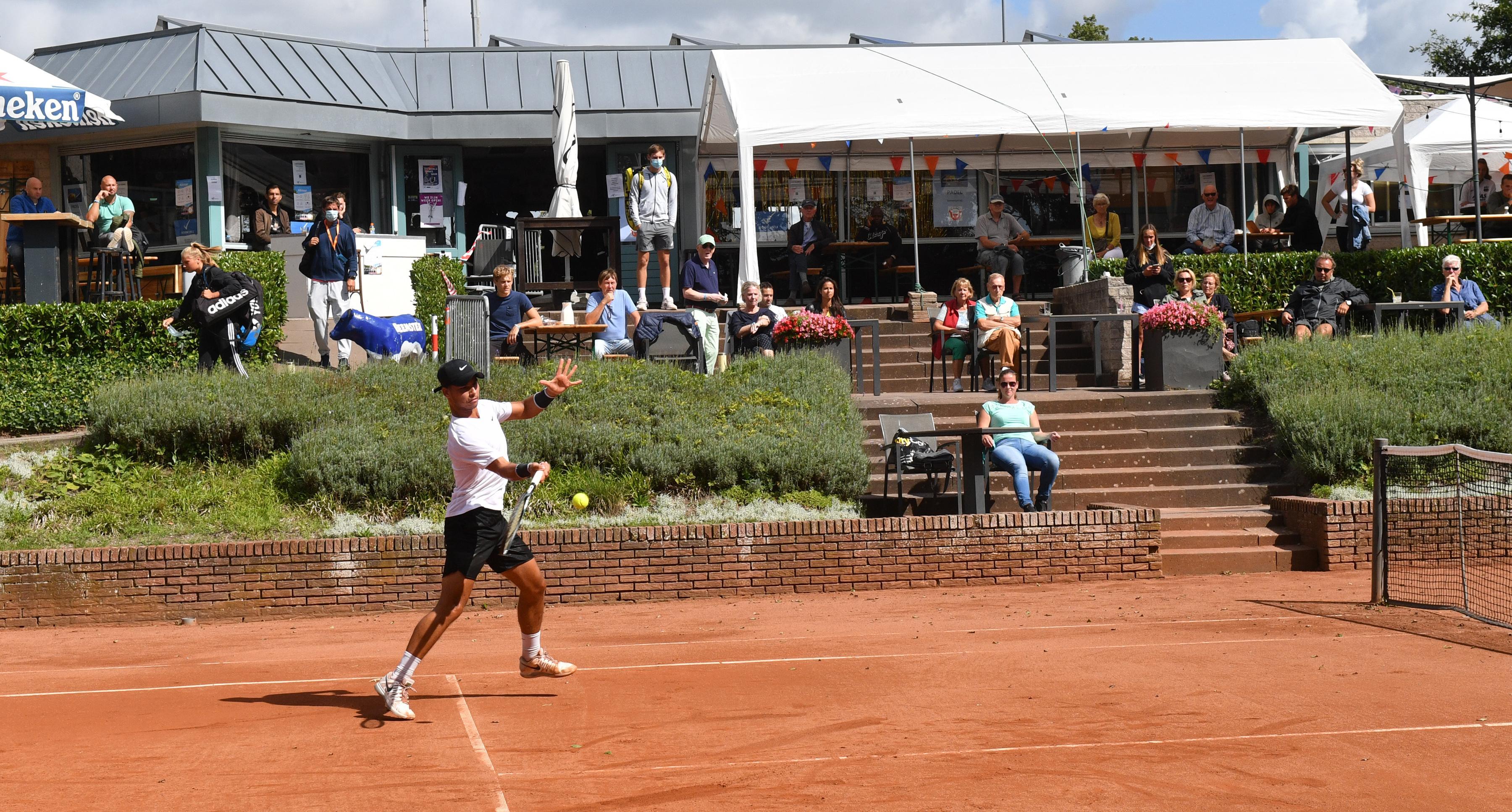 Elk nadeel heeft zijn voordeel: de 'corona-editie' van het internationale ITF Toernooi in Alkmaar heeft het sterkste deelnemersveld ooit