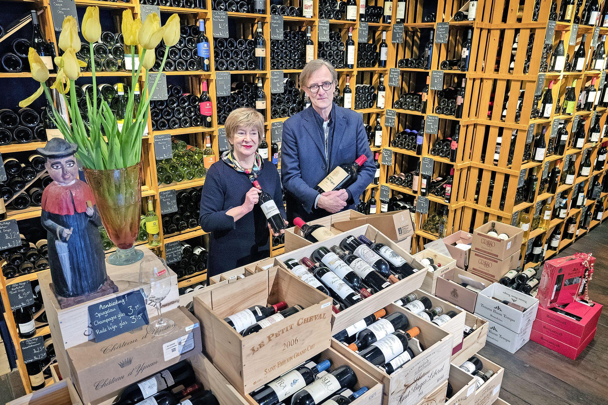 Wijnkoperij Henri Bloem in andere handen. 'Dit is een dozenwinkel: klanten komen nooit voor een enkel flesje'
