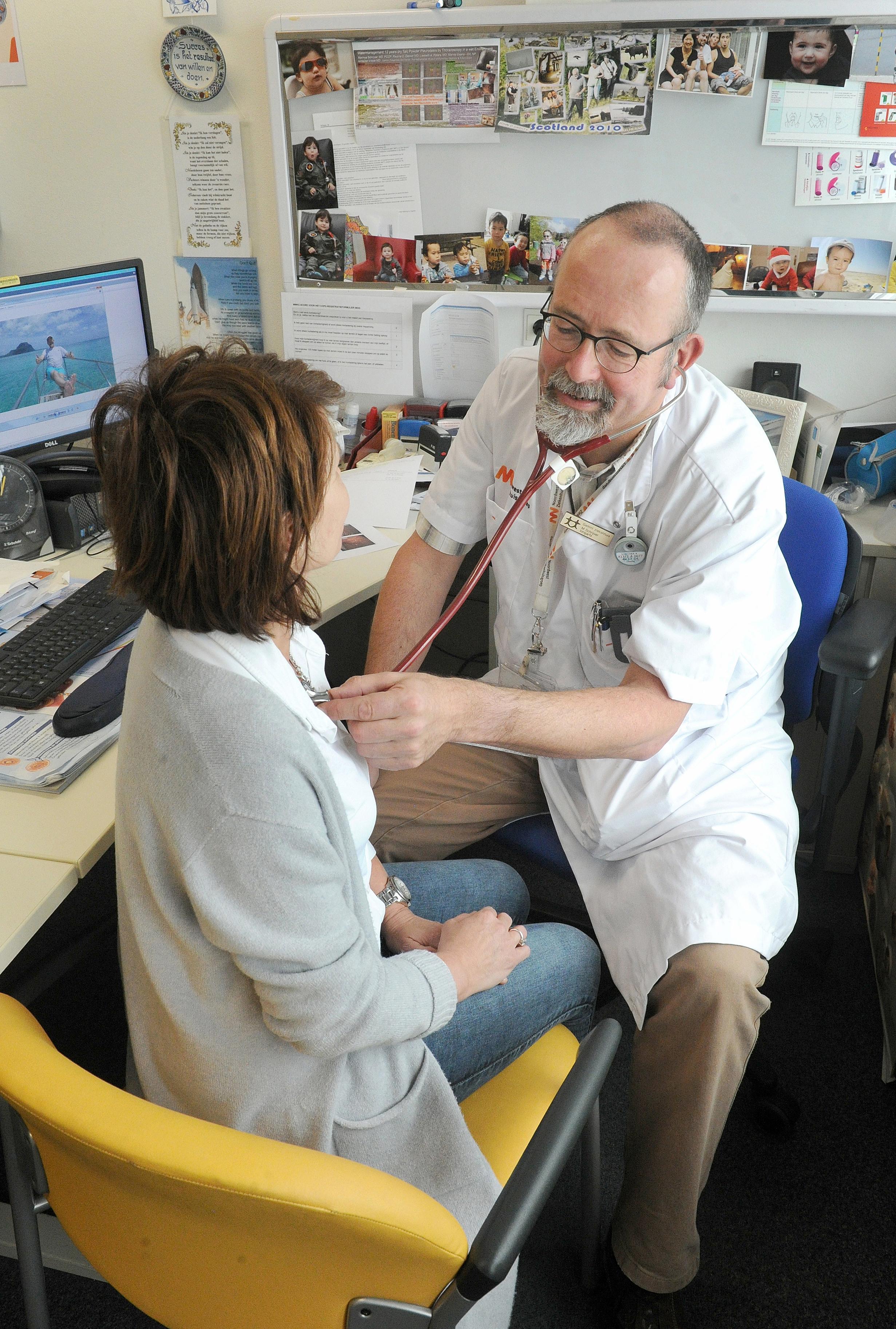 Longarts vertelt over COPD in Inloophuis Den Helder