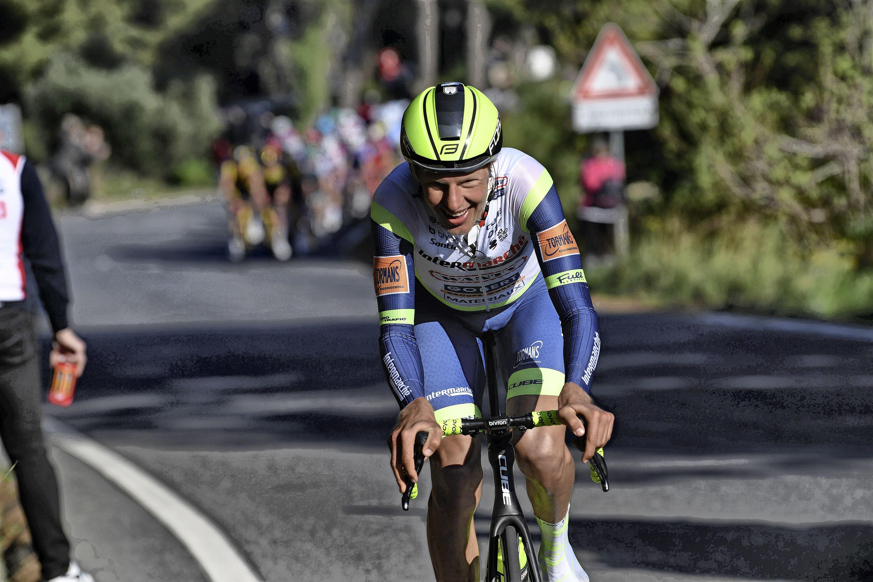 Wielrenner Taco van der Hoorn debuteert in de Giro: 'Ook al heb ik één procent kans, dat vind ik genoeg om er helemaal voor te gaan'