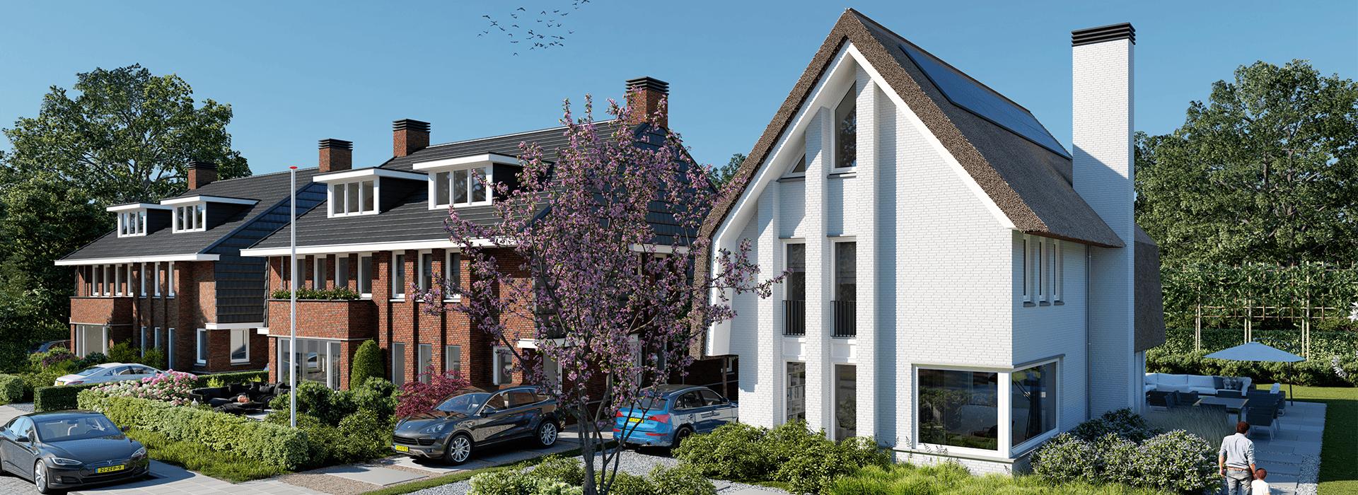 Soest ziet geen probleem in vijftal sjieke woningen SuysenBosch, start verkoop mogelijk deze zomer