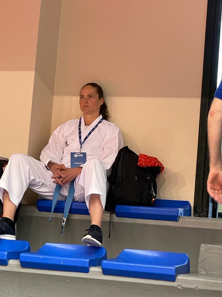 Ciska van der Voort mist afslag naar olympisch karatetoernooi in Tokio. Nu eerst de verjaardagen van haar zoons, pas dan een blik in de toekomst