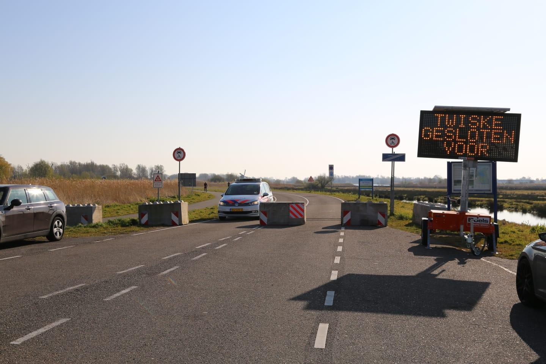 Twiske afgesloten voor auto's na beraad Veiligheidsregio en gemeentes