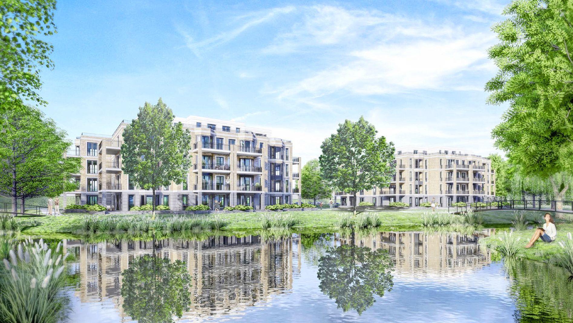 Oegstgeest gaat toch verder met Sedos-plan voor Hofbrouckerpark