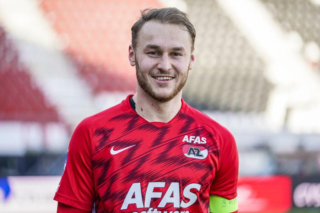 AZ'ers Koopmeiners en De Wit keren een dag voor belangrijk duel met Groningen terug op trainingsveld