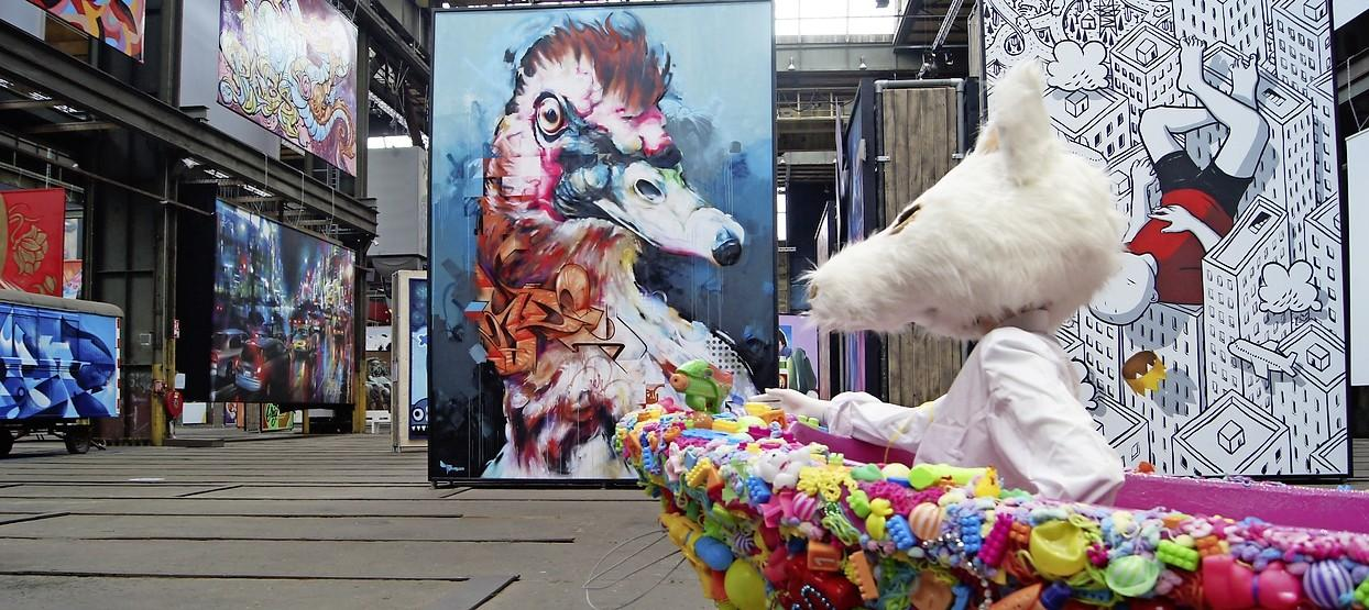 Het grootste streetartmuseum ter wereld gaat in stilte open [video]