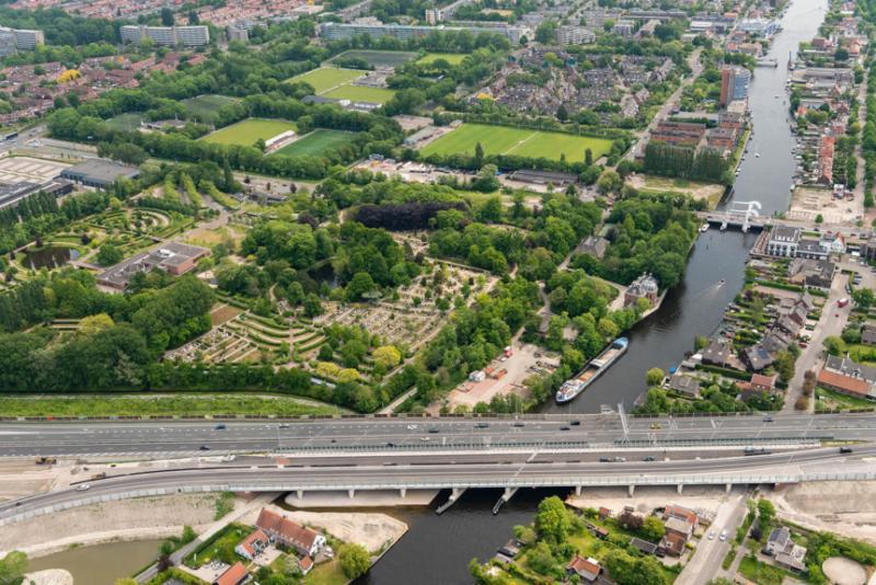 Rhijnhofweg en Voorschoterweg in Leiden twee dagen afgesloten