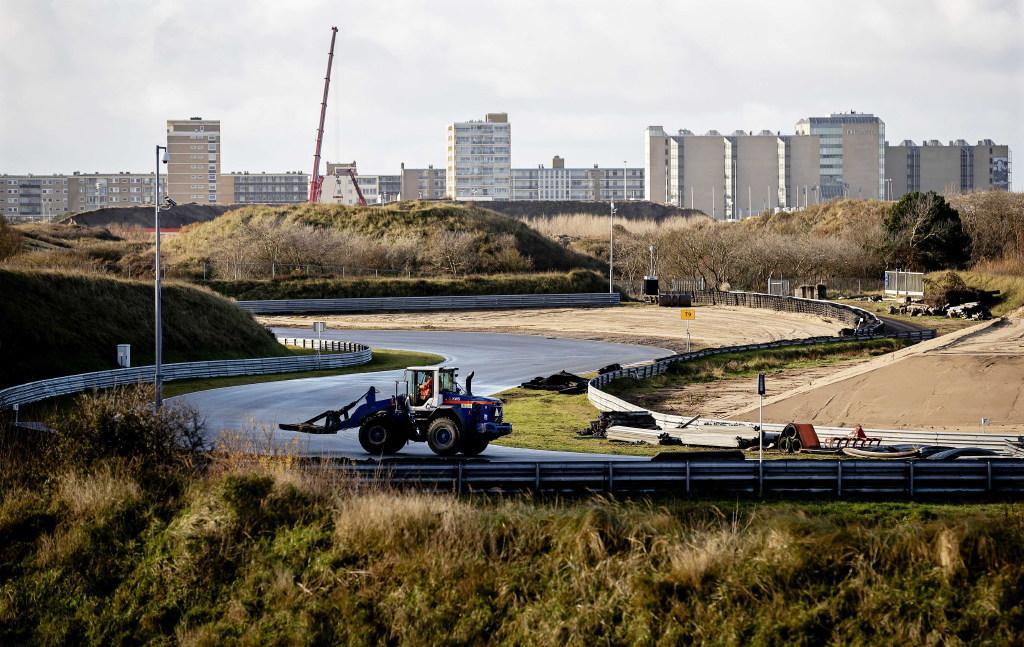 Verbouwing racebaan Circuit Zandvoort eind februari klaar