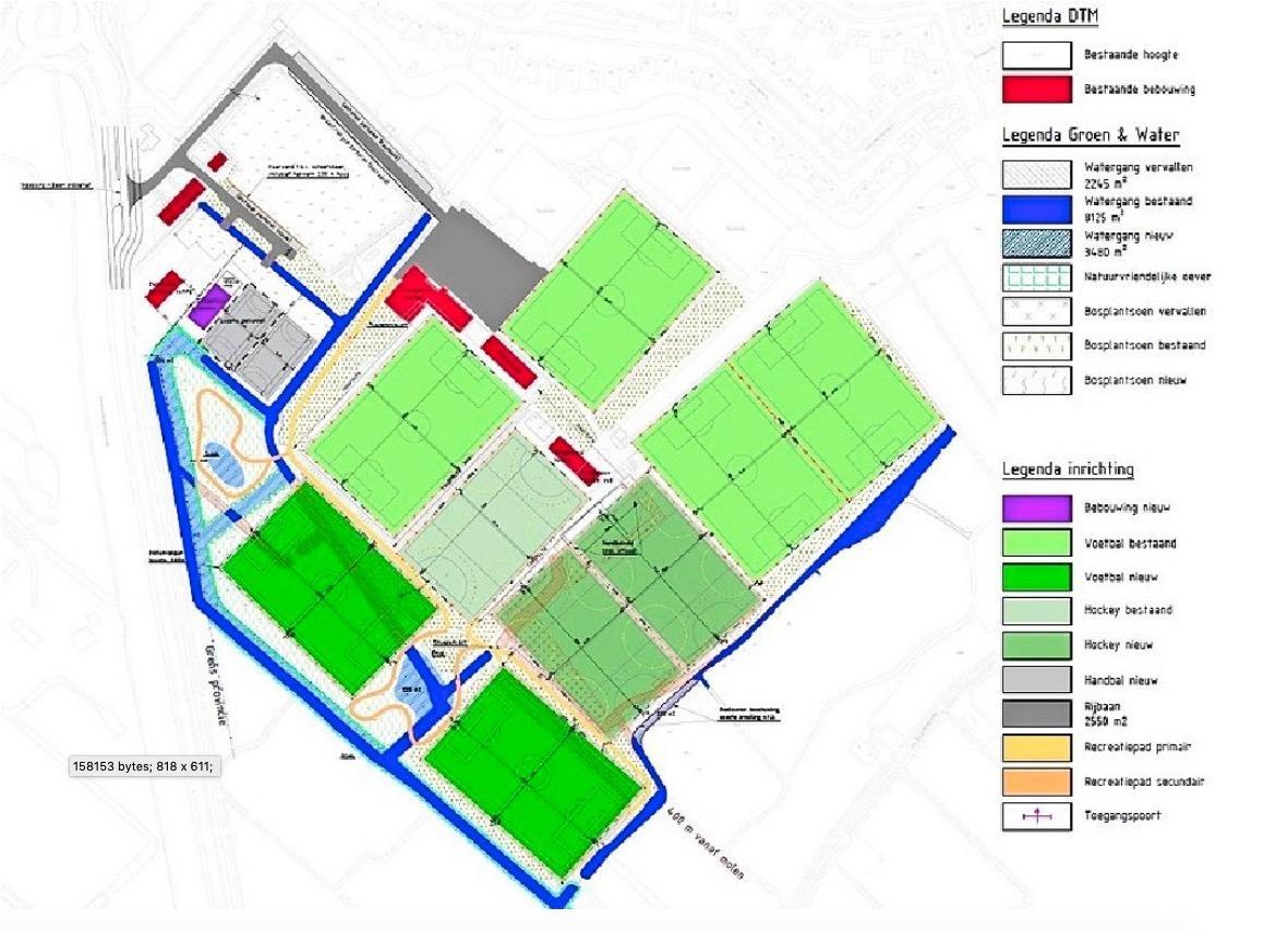 Sportpark Elsgeest in Voorhout wordt zes ton duurder