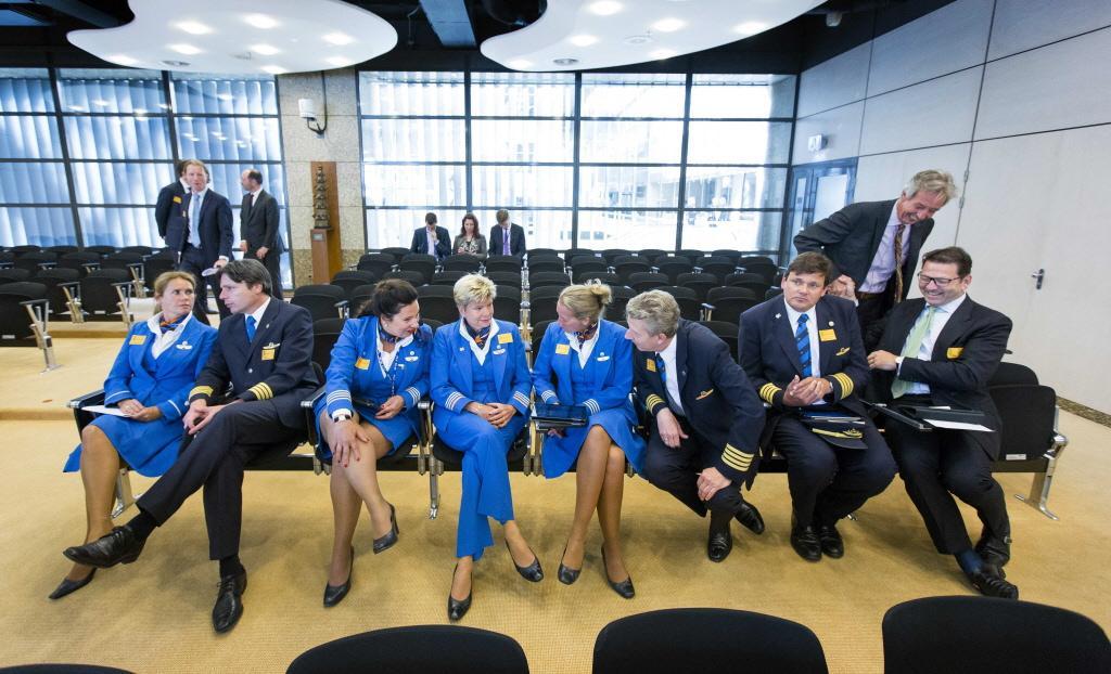 Grote steun voor petitie meer loon KLM