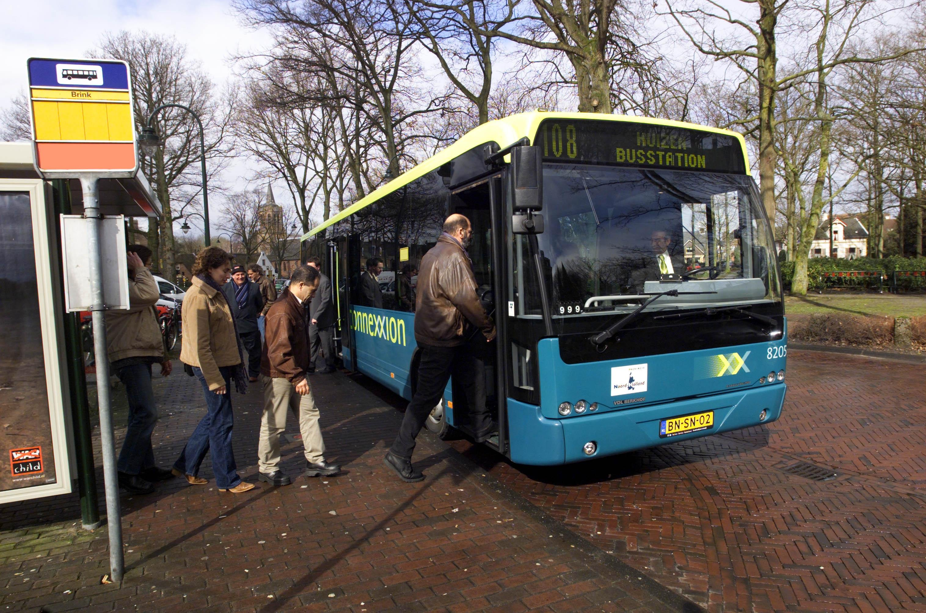 Vervoerregio let op bussen in kleine kernen Haarlemmermeer