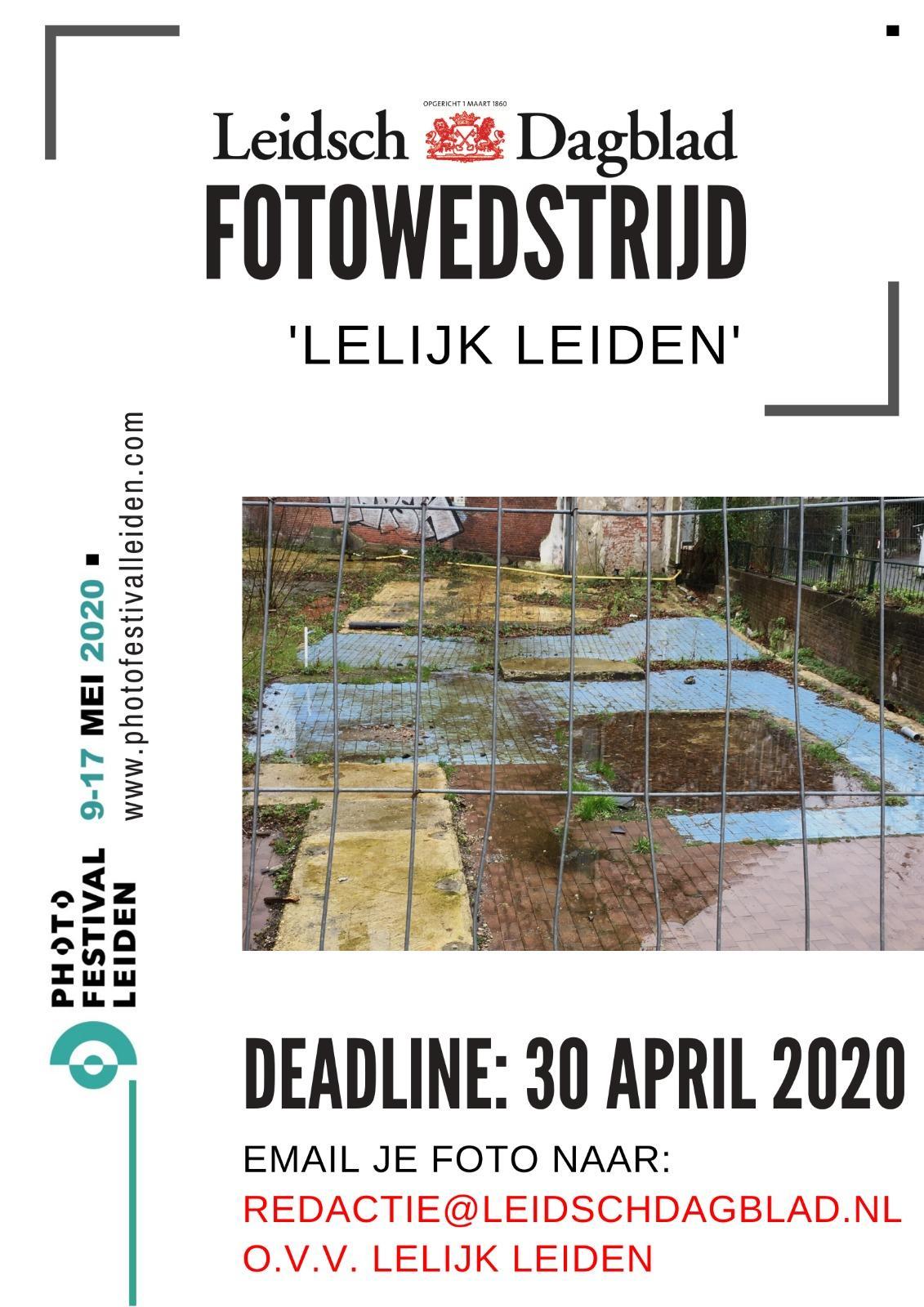 Oproep: maak een foto van Lelijk Leiden