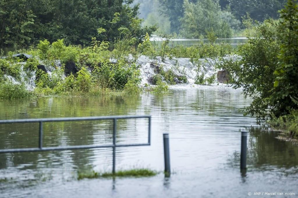 KNMI geeft weeralarm af om zware regenval in Zuid-Limburg