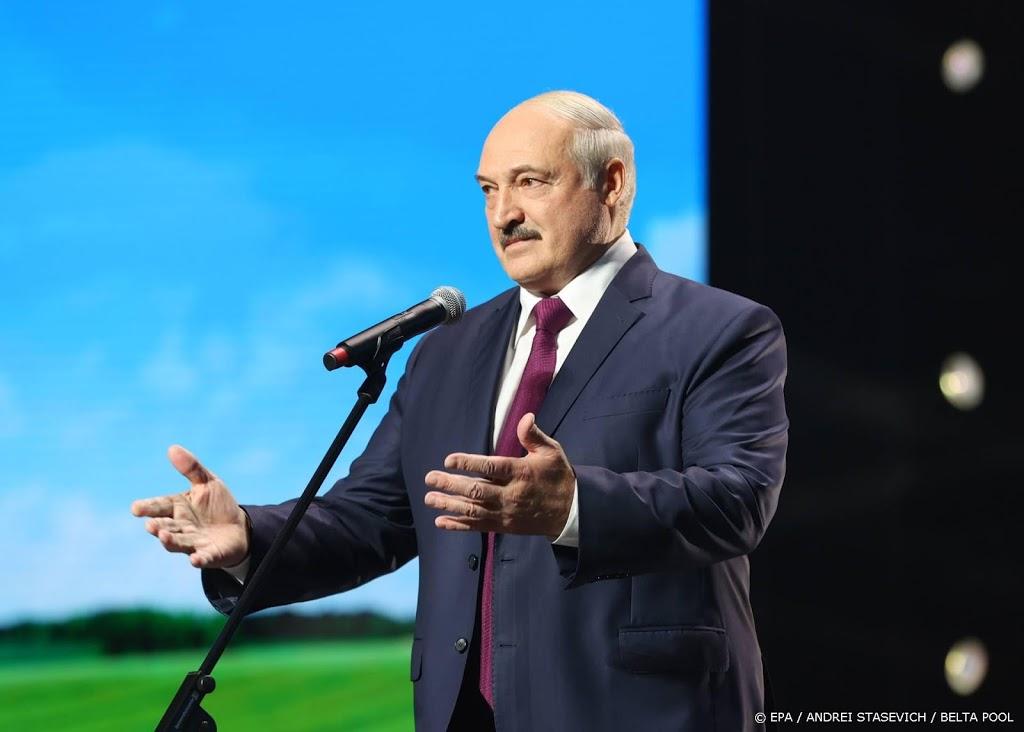 'Wit-Russische leider ontsnapt voorlopig aan Europese sancties'