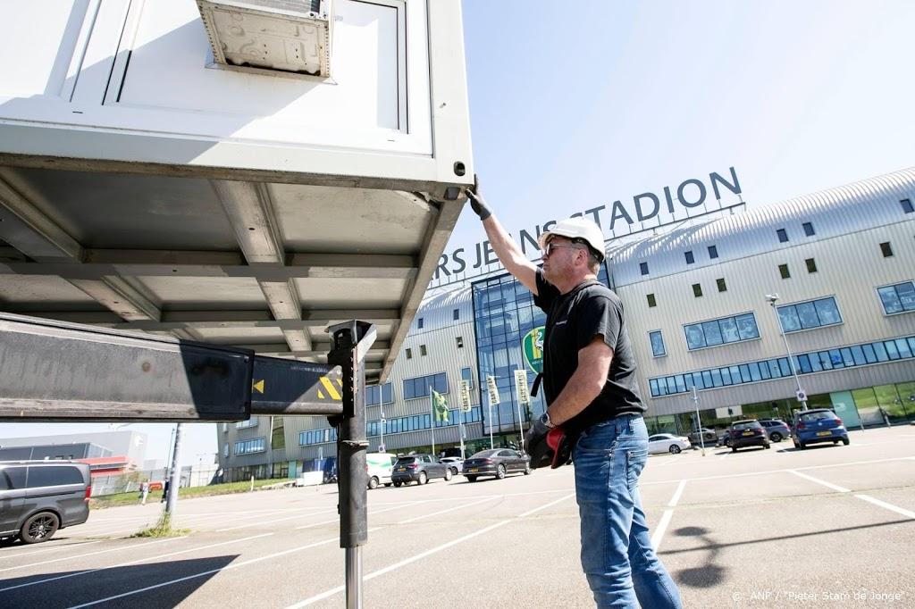 Corona-opvang vertrekt bij stadion ADO Den Haag